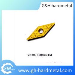 炭化物の挿入金属の旋盤はVnmg160404TMに用具を使う