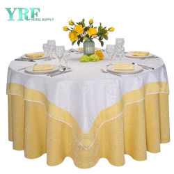 Yrf Western importados toalhas para mesas redondas