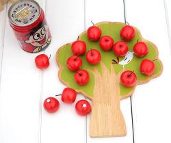 Arbre de Noël Souptoys jouet en bois des arbres fruitiers Apple Tree magnétique