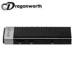 소형 PC X96s S905y2 2g 16g 인조 인간 텔레비젼 지팡이 인조 인간 8.1 지능적인 인조 인간 Bt 인터넷 텔레비젼 Dongle 2GB 렘 16GB ROM 다운로드 영상