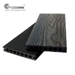 Ausgeführtes wartungsfreie geöffnete Luft-Außenseite aufbereitetes Plastikplattform Pwc gutes WPC Bauholz