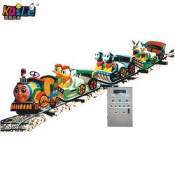 Парк оборудования детский парк аттракционов электрический открытый контакт плавностью хода поезда (KL6028)