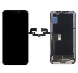 柔らかいOLEDの品質のiPhone Xのための携帯電話LCDの表示のタッチ画面
