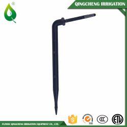 Flèche d'irrigation au goutte à goutte goutteur deux succursales Bend & Type droit
