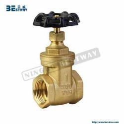 Válvula de Gaveta de latão forjado com extremidade de rosca (BW-G04)