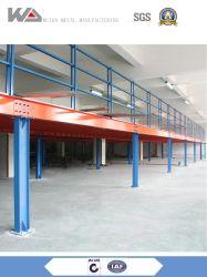 Fabrik-Preisstabilität-Metallbeiseite legende Stahlkonstruktion-materielle modulare Plattform das Dachboden-Mezzanin