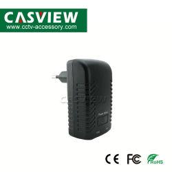 خرج محول الطاقة PoE 1A مدخل DC48V تيار متردد 110-240 فولت تيار متردد 50/60 هرتز الاتحاد الأوروبي US Plug اختياري الجدار Plug PoE Injector Ethernet Adapter IP Adapter الكاميرا