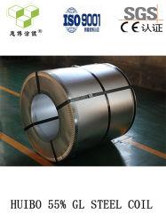 Rullo d'acciaio rivestito di alluminio dell'acciaio Coils/Al-Zn di perfezione 55% Gl