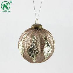 Прелестная рождественские украшения украшение стеклянная колба