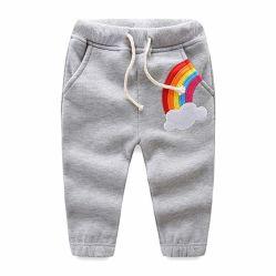 Kleinkind scherzt Kleidung-Baby-Regenbogen-Rüttler-Hosen-Vlies
