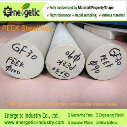 Custom высокой производительности пластмассовый стержень Peek, Peek, Peek трубки, полимера, Peek Peek лист, Polyetheretherketone стержень, пластиковый белый стержень Peek, детали из полиэфирэфиркетона