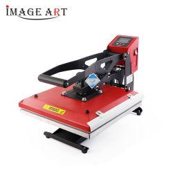 Pantalla LCD de alta presión de la transferencia de calor el calor de la máquina de prensa para T-shirt de impresión de sublimación (38x38cm)