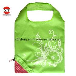Polyester pliable promotionnel sac sac cadeau de Noël (fraise sac)