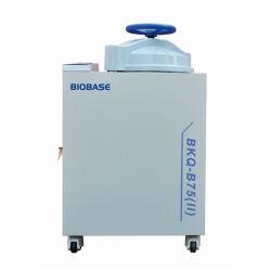 Het Nieuwe Ontwerp van Biobase 50L, 75L, 100L, 120L, 150L, 200L Autoclaaf van de Stoom van het Wiel van de Hand de Verticale