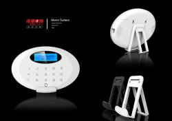 CE House Security Burglar Alarm di GSM con Bluetooth, Screen