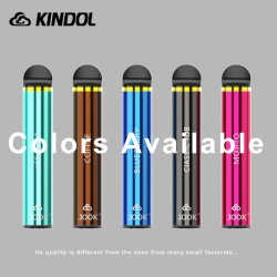 E-cigarette jetable Pre-Filled pour kit de démarrage avec pré-rempli Premium e-Jus de fruit de nombreuses saveurs