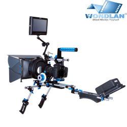 De Installatie van Wondlan DSLR, de Toebehoren van de Camera, het Systeem van de Steun van de Installatie van de Schouder van de Camera Sn2.1 met Handvatten