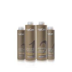 Maxcare органических чистого волосы здание волокна бразильский кератин лечение волос
