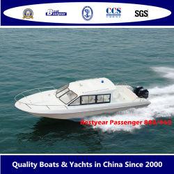 Bestyear 8.8m 9.6m de Boot van de Passagier van de Glasvezel voor Overzeese van 21 tot 30 Mensen Kust of het Vervoer van Eilanden