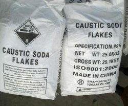 Vlokken 99% van de Bijtende Soda van de Rang van de industrie: