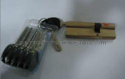 Cilindro de cerradura de seguridad Ab de latón (xinye-0061)