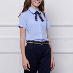 Maßgeschneiderte Baumwolle Schuluniform, High School Uniformen Shirt