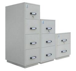 Armoires verticales ignifuges, armoires certifiées UL, résistant au feu armoire de fichiers (UL824FRD-II série)