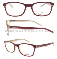 Het met de hand gemaakte Optische Frame van de Acetaat voor het Optische Frame van de Manier (OA126037)