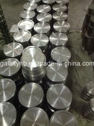Obiettivo rotondo di titanio puro 99.9% su ordine per la metallizzazione sotto vuoto