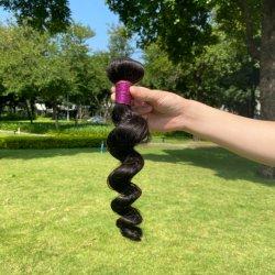 I gruppi dei capelli comerciano i capelli all'ingrosso indiani dell'onda 100%Human del corpo dei gruppi dei capelli nessun groviglio nessun spargimento