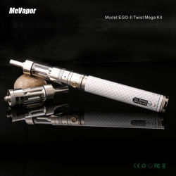Nouveau kit d'atomiseur E cigarette GS Kit Egoii Twist Mega