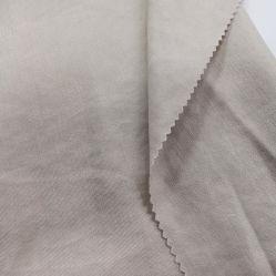 Shirtingの衣服のための柔らかい手の感じの絹の綿織物が付いている中国の環境に優しい編まれた平野