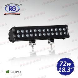 """15 """" 72W LED nicht für den Straßenverkehr heller Stab für SUV, ATV, UTV, Straßen-Rolle, LKW (RG-LB-015B-4)"""