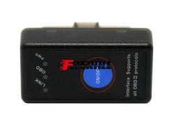 Super voiture Mini Lecteur de code de défaut OBD & Diagnostic Scan Tool, Bluetooth 4.0, avec l'interrupteur de puissance