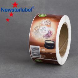 Preiswerter Haustier-Wärmeübertragung-Film für Plastikflaschen-Kennsatz