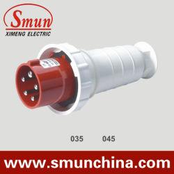 5pin 63A/125A Electrical Plug, EEG Male Plug, IP67 6h Waterproof Plug