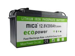 Batterij van het Fosfaat van het Lithium van de Batterij LiFePO4 van de Levering 12V200ah/100ah/300ah van de fabriek direct de Ionen voor de Opslag van de Zonne-energie/Marine/RV/Boat/Telecom/Bluetooth APP