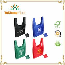 Carrinho de Compras de nylon de dobragem de moda Bag para compras e promoção