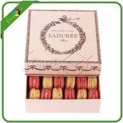 Caixa de bolo de casamento personalizados Macaroon Embalagem por grosso