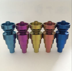 10mm 14mm de 19mm Gezamenlijke Mannelijke en Vrouwelijke Universele Spijkers van het Titanium Domeless