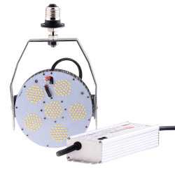 10 ans de garantie 100W 150W 200W Kits de rattrapage à LED avec UL ETL Meanwell pilote DLC approuver