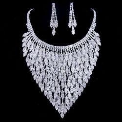 2015 spätestes Elegant Fashion Wedding Bridal Jewelry Set mit Necklace