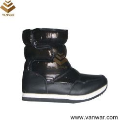 Cemented nero Snow russo Boots per Ladies (WSCB015)