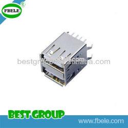 De elektronische Micro USB Fbusba2-117 van de Schakelaar van PCB van de Schakelaar