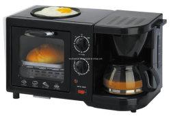 トーストオーブン、コーヒーメーカー、ノンスティックコーティングフライパンで1朝食メーカーで2014熱い販売Alumium 3