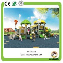 La Chine en matière plastique de haute qualité à bas prix faites glisser l'aventure d'âge préscolaire à l'extérieur de l'équipement de terrain de jeux pour enfants (TY-70232)