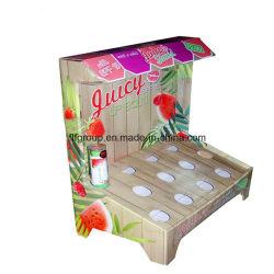 Продукт по уходу за кожей картонных дисплей бутылка напиток картон подставка для дисплея