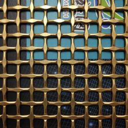 [يق] زخرفيّة ستار [وير مش] مادة معماريّة لأنّ بناء