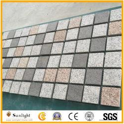 El chino barato granito gris Cubo, adoquines de piedra, Patio pavimentadora