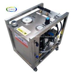 Terek Sistema Hidráulico Portátil Ar Teste Hidrostático da Unidade da Bomba para mangueiras ou tubos ou válvulas